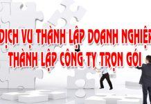 Dịch vụ thành lập doanh nghiệp trọn gói tại Hà Nội