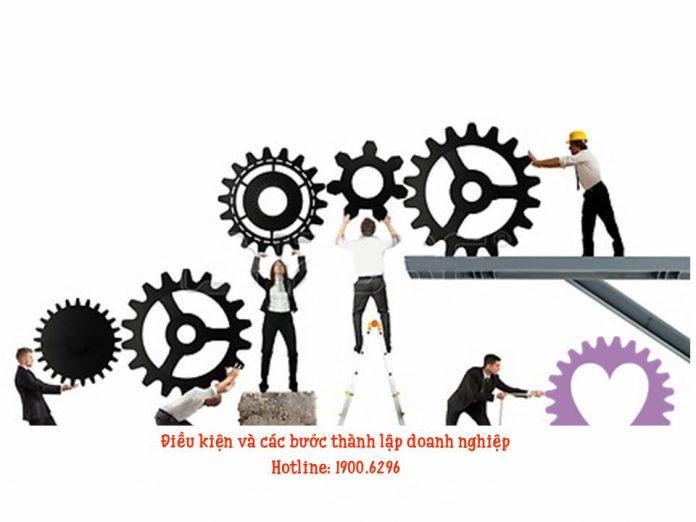 Điều kiện và các bước thành lập doanh nghiệp