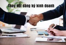 Dịch vụ làm thay đổi đăng ký kinh doanh trọn gói